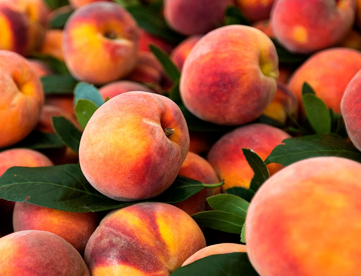 exotic fruit -peaches